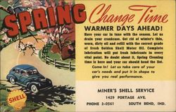 Spring Oil Change Reminder Miner's Shell Service