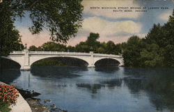 North Michigan Street Bridge at Leeper Park