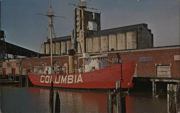 The Columbia - Lightship No. 88 Steamers