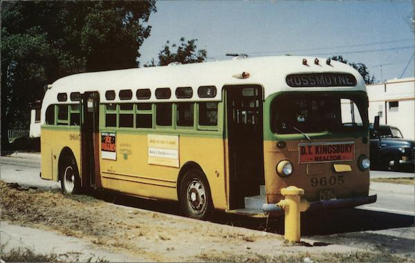 Historic Los Angeles Transit Lines Motor Coach California
