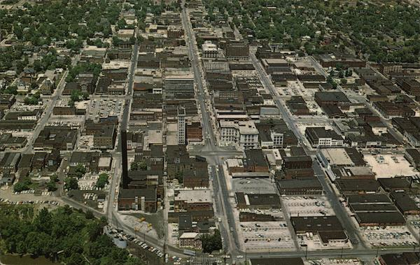 Air View of Danville, Illinois
