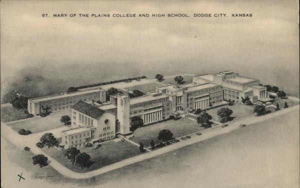 St. Mary of the Plains College and High School Dodge City ...