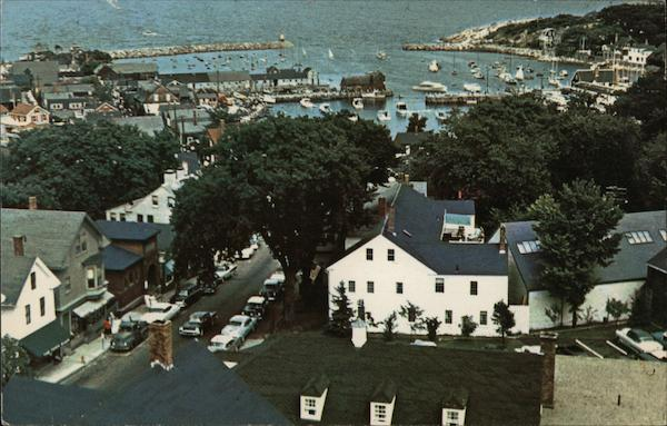 Rockport Harbor from The Old Sloop Massachusetts