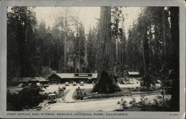 Post Office and Stores Sequoia & Kings Canyon National Parks