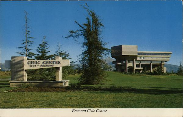 Civic Center - City Government Building Fremont California