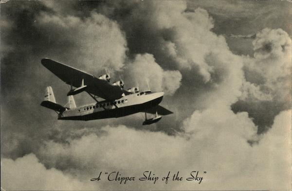 A Clipper Ship of the Sky Aircraft