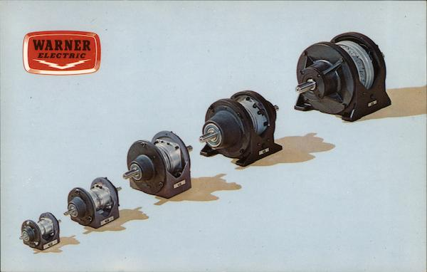 New Electric Clutch/Brake Drive - Warner Electric Advertising