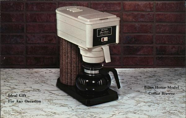 Bunn Home Model Coffee Brewer Advertising