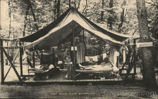 Rest Hour--Camp Whippoorwill Keeseville New York