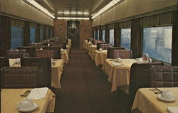 "Interior, Dining Car ""Adventurer"" - Union Pacific"