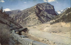 California Zephyrs Pass Through Glenwood Canyon