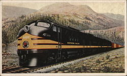 Northern Pacific Diesel Road Locomotive