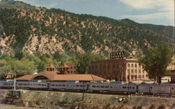 California Zephyr at Glenwood Springs