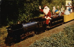 Santa on Nut Tree Miniature Railroad