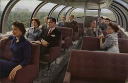 The Astra Dome Observation Lounge - Union Pacific Railroad