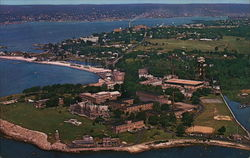 Aeriel View Coast Guard Training Station Avery Point