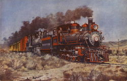 Virginia and Truckee Train