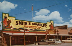 Smith & Chandler Western Outfitters Postcard