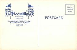 Piccadilly Restaurant and Pub