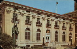 Federal Building and Post Office Port Arthur, TX Postcard