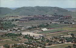 Sul Ross State University and View of Town