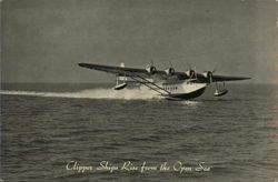 Clipper Ships Rise from the Open Sea