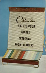 Columbia Lattiswood Shades Draperies Room Dividers