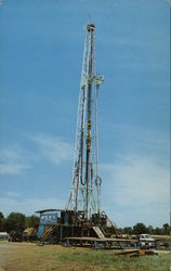 Oil Well Drilling in Hillsdale County, Michigan