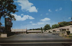 Elms Motel and Dining Room Postcard