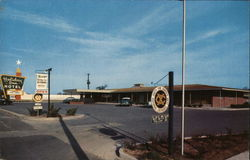 Holiday Inn Hotel and Henry's Holiday Inn Restaurant Postcard