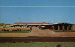 Beacon Motor Lodge Postcard