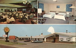 Vineyard Motel Postcard