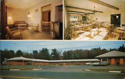 Sturbridge Motel & Country Squire Restaurant Postcard