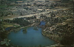 Aerial View of Lake Evans