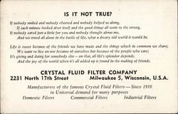 Crystal Fluid Filter Company