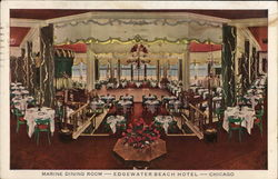 Marine Dining Room-Edgewater Beach Hotel-Chicago
