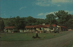 Winters Motel Postcard