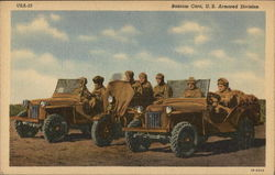 Bantam Cars, US Armored Division