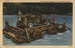 Transporting Equipment, U.S. Armored Division