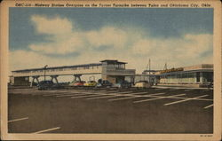 Midway Station Overpass, Turner Turnpike, Oklahoma