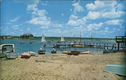 Beach and Sailing Boats