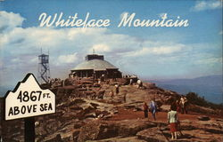 Summit House of Whiteface Mountain Memorial Highway