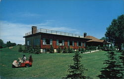 Grossinger's - New Club House Postcard