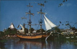 "Frontierland - Sailing Ship "" Columbia"""