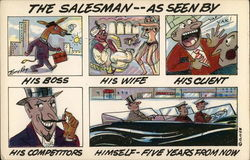 The Salesman--As Seen By
