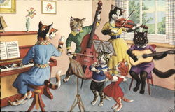 "A ""Band"" of Cats..."
