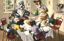 Cats and Dogs 'round the Dinner Table