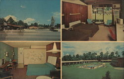 Howard Johnson's Motor Lodge and Restaurant Postcard