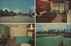Howard Johnson's Motor Lodge & Restaurant Postcard