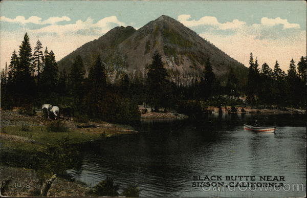 Black Butte Mount Shasta California